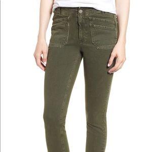 NWT Paige Horton Ankle Vintage Khaki Jeans